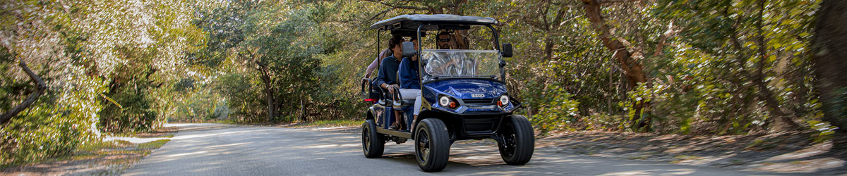 EZGO Express L6 Golf Cart