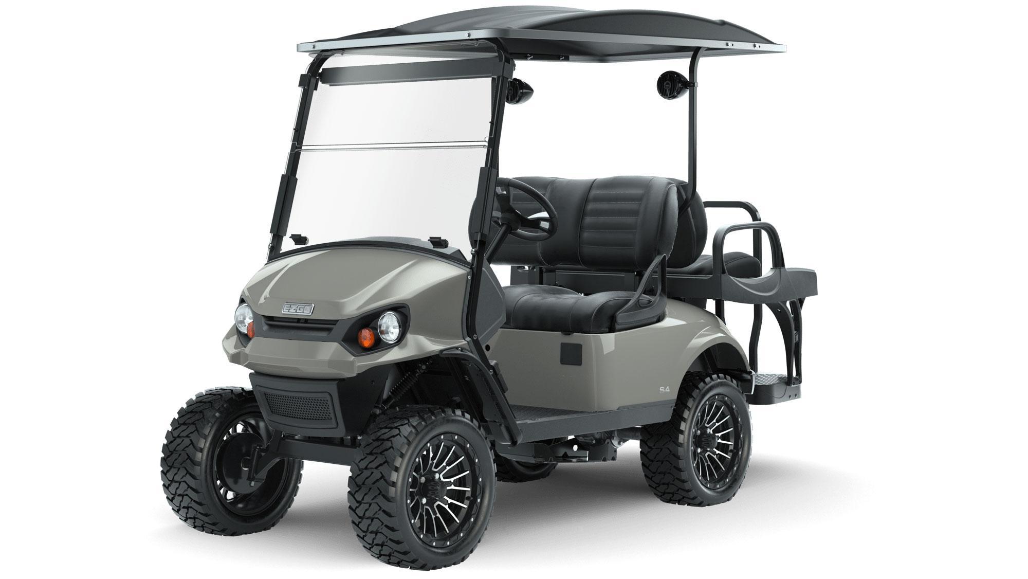 EZGO Express S4 with Premium Seats Accessories