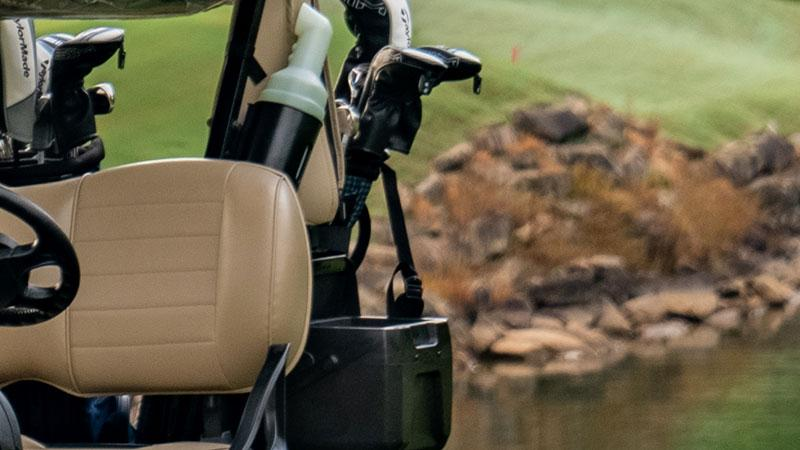 EZGO premium golf cart features and accessories.