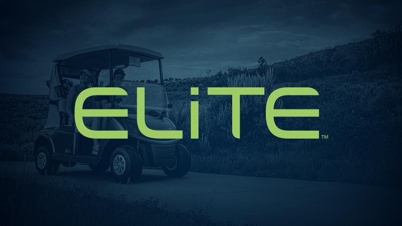 E-Z-GO ELiTE Lithium Golf Cart