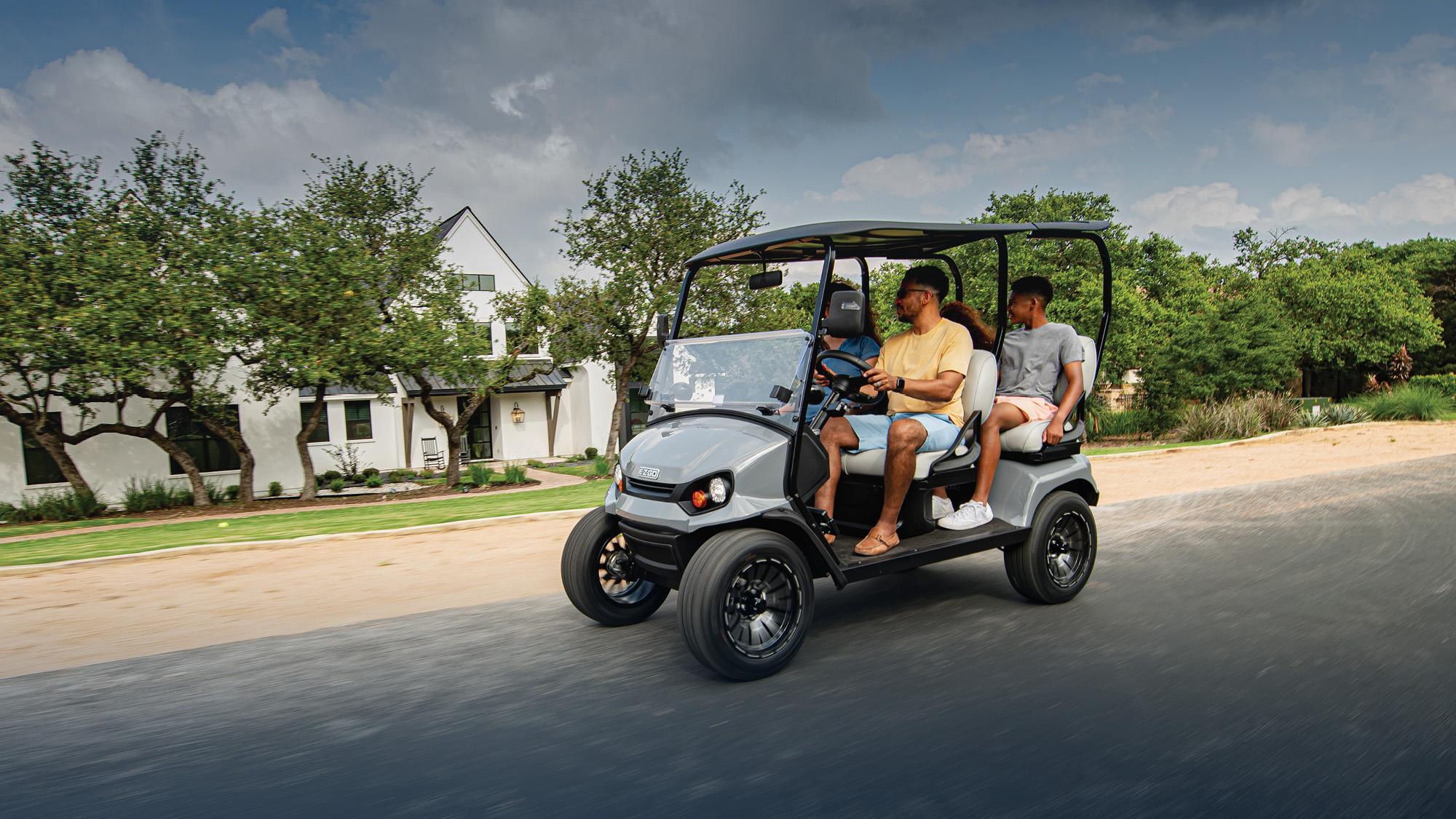 Liberty golf cart