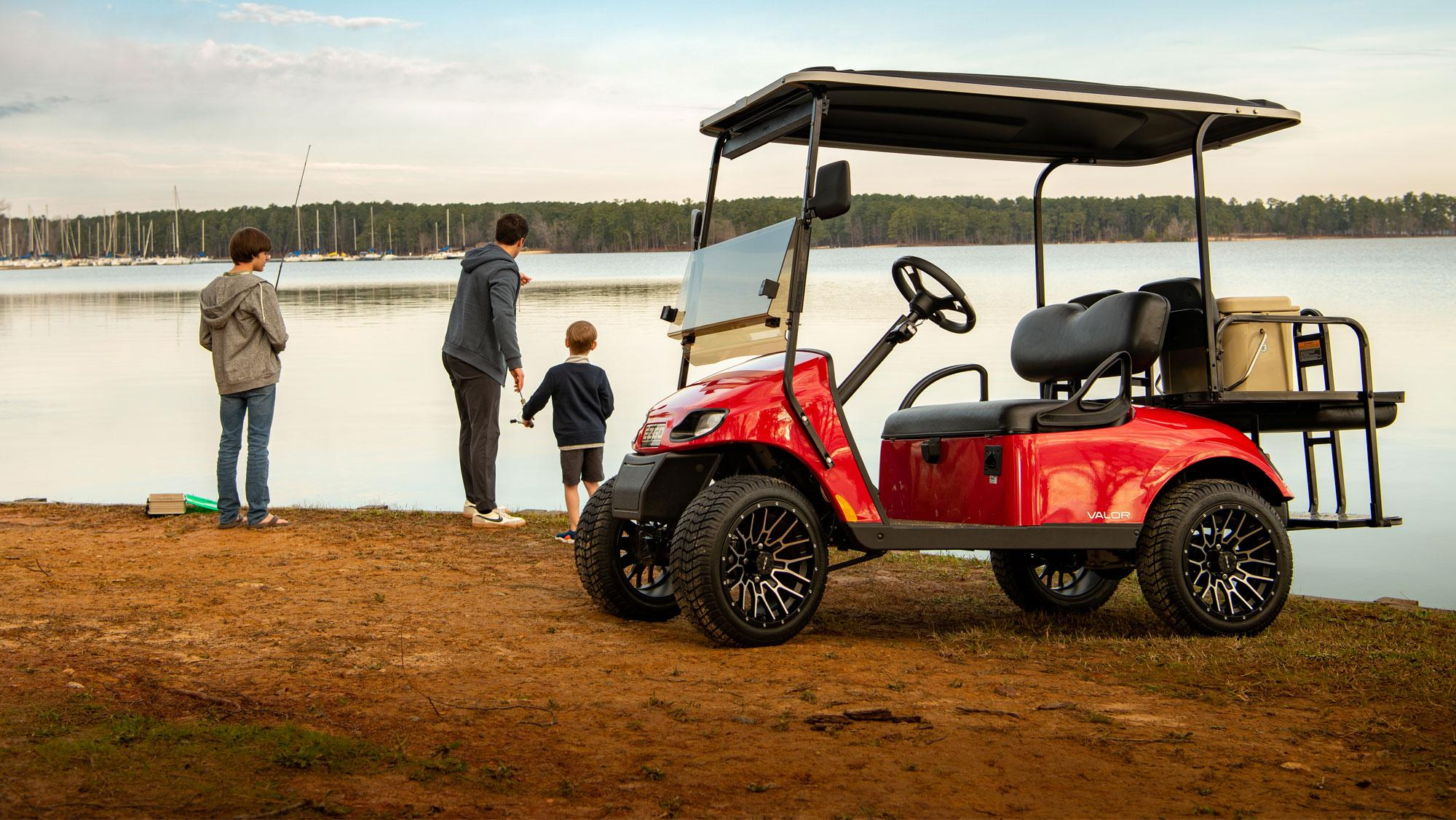 EZGO Electric Valor Golf Cart
