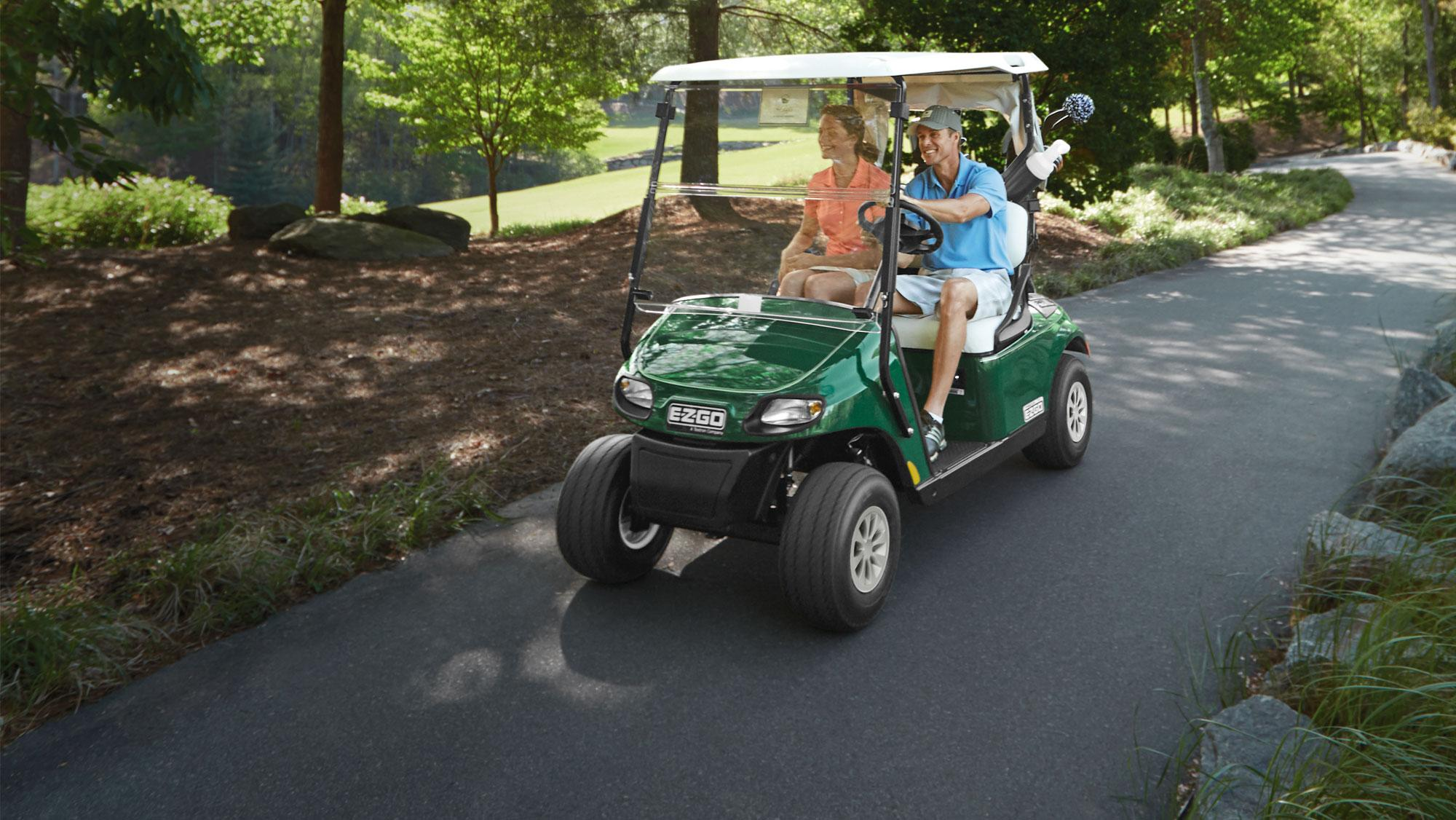 EZGO Green Freedom TXT Fleet Golf Cart