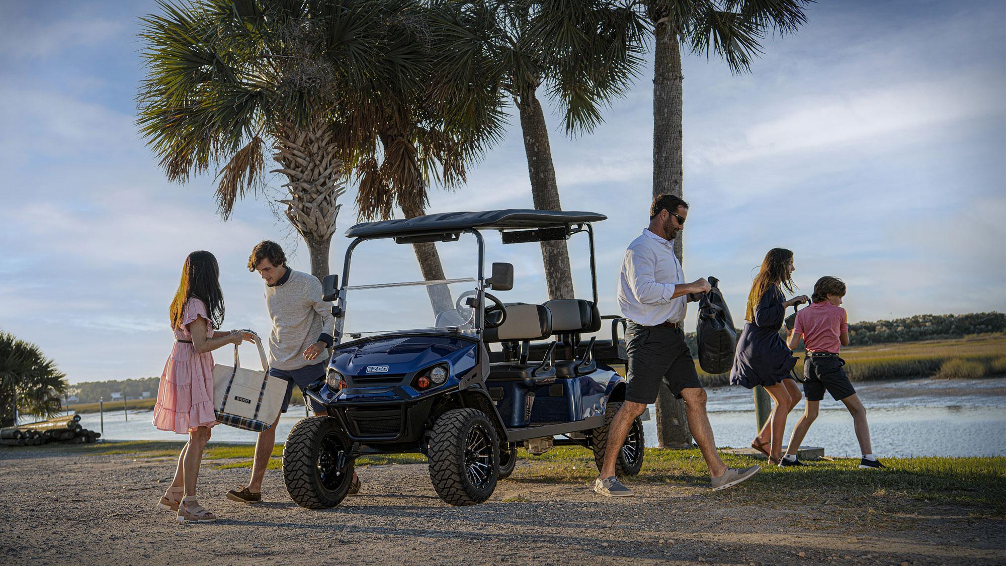 EZGO Personal Golf Cart RAQ Marquee