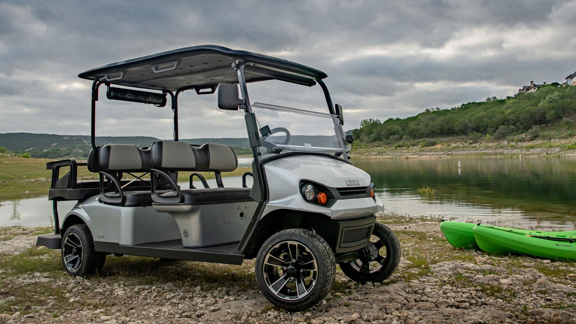 Contact EZGO for a Golf Cart