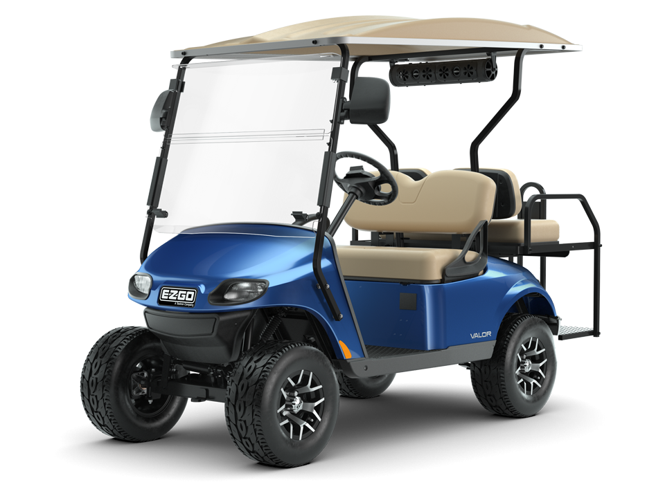 EZGO Valor Personal Golf Cart