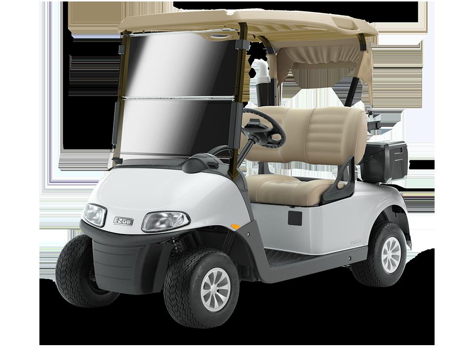 EZGO Freedom RXV Fleet Golf Cart with Top and Premium Seat